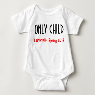 Only Child 1 Baby Bodysuit