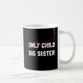 Only Child Big Sister Coffee Mug