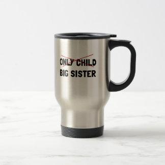 Only Child Big Sister Travel Mug