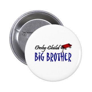 only child brother pinback buttons