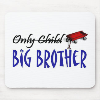 only child brother mouse mats