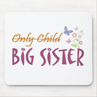 only child sister mouse pads