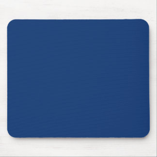 Only cobalt cool blue solid color background mouse pad