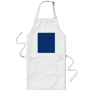 Only cobalt cool blue solid color OSCB03 Long Apron