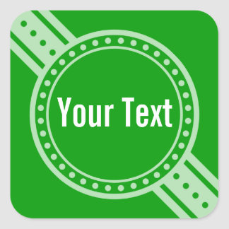 ONLY COLOR / BUTTON BANNER white + your text Stickers
