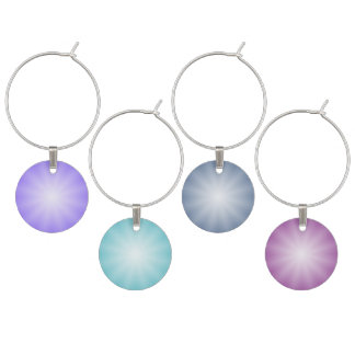 Only Color - for your text/image/numbers/monograms Wine Charm
