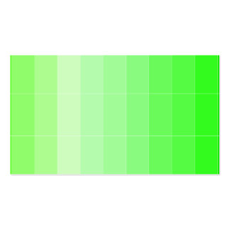 Only Color Yellow Yellow-Green Ombre Pack Of Standard Business Cards