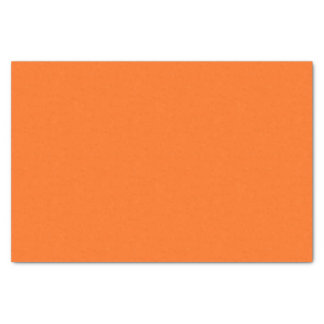 Only cool orange tangerine pumpkin solid OSCB25 Tissue Paper