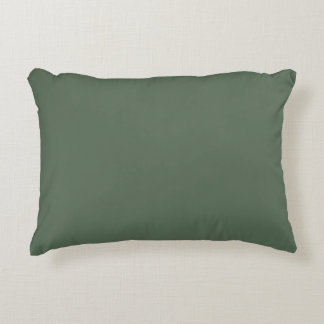 Only cypress green gorgeous solid color OSCB23 Decorative Cushion