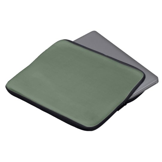 Only cypress green gorgeous solid colour OSCB23 Laptop Sleeve