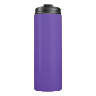 Only deep violet purple solid color OSCB49 Thermal Tumbler