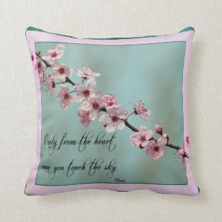 Only From the Heart Floral Cushion
