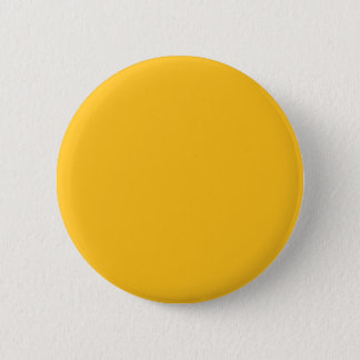 Only gold stylish solid color background 6 cm round badge