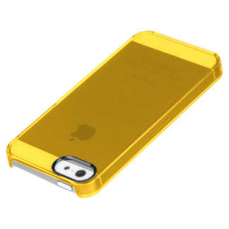 Only gold stylish solid color OSCB28 Clear iPhone SE/5/5s Case