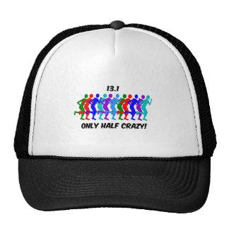 only half crazy trucker hat