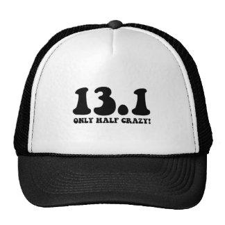 only half crazy mesh hats