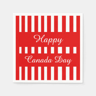 Only Happiness Canada Day Party Paper Napkins Disposable Napkin