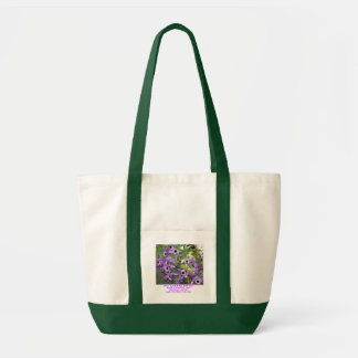 """""""Only Have Eyes For You"""" purple orchids tote bag"""