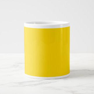 Only lemon yellow pretty solid color OSCB09 Jumbo Mug