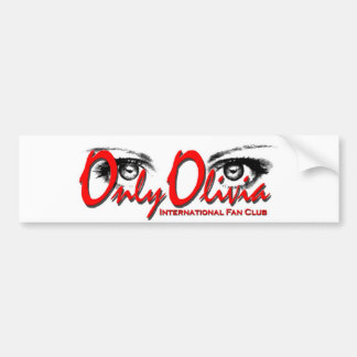Only Olivia Bumper Sticker