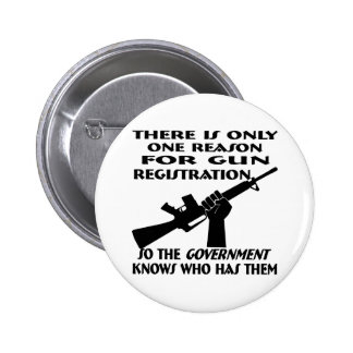 Only ONE Reason For Gun Registration Pin
