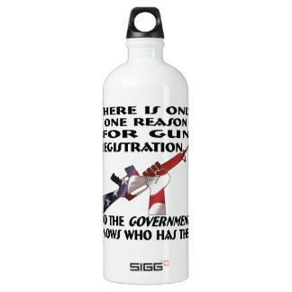 Only ONE Reason For Gun Registration SIGG Traveller 1.0L Water Bottle