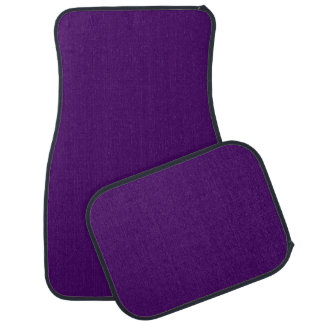 Only purple deep cool solid color OSCB15 Car Mat
