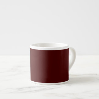 Only red brick gorgeous solid OSCB16 background Espresso Mug