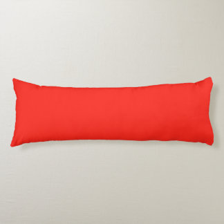 Only red tomato rustic solid color OSCB35 Body Cushion