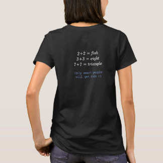 Only Smart People Will Get This Puzzle T-Shirt