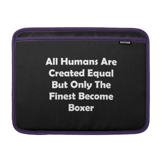 Only The Finest Become Boxer MacBook Air Sleeve