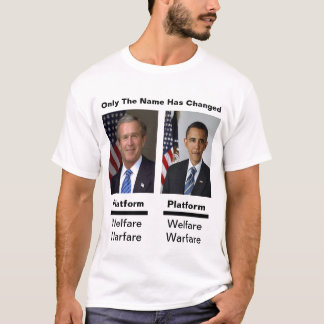 Only The Names Have Changed T-Shirt