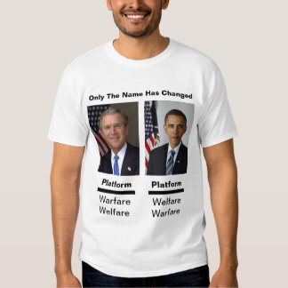 Only The Names Have Changed Tee Shirts