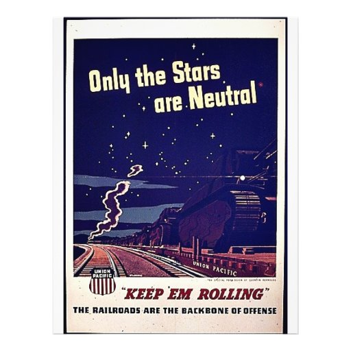 Only The Stars Are Neutral Flyers