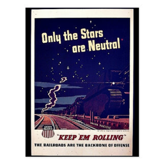 Only The Stars Are Neutral Post Card