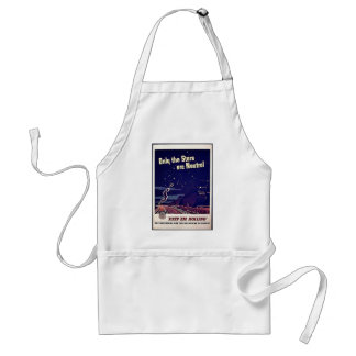Only The Stars Are Neutral Standard Apron