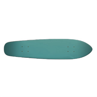 Only turquoise cool dark cyan color skateboards