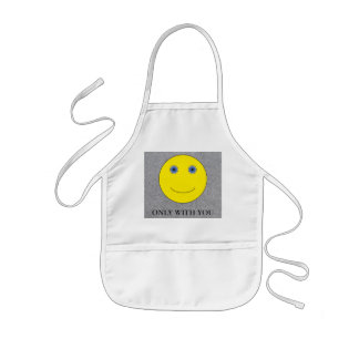 Only with you kids apron