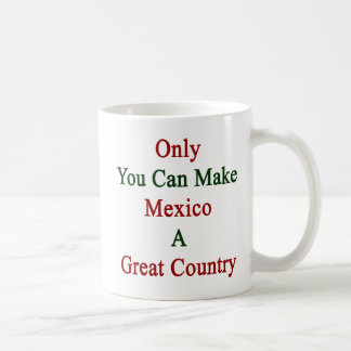 Only You Can Make Mexico A Great Country Coffee Mug