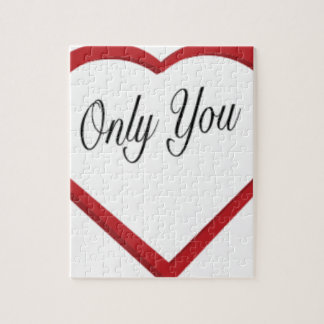 Only You Jigsaw Puzzle