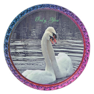 Only You Swan Collection Plate