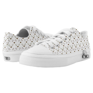 Only you. valentines love pattern with hearts. low tops