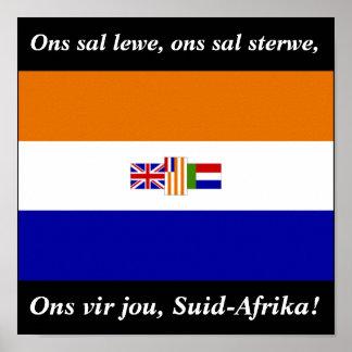 Ons vir jou, Suid-Afrika! Poster