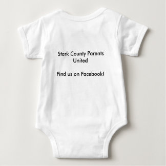 Onsie; Stark County Parents United Baby Bodysuit