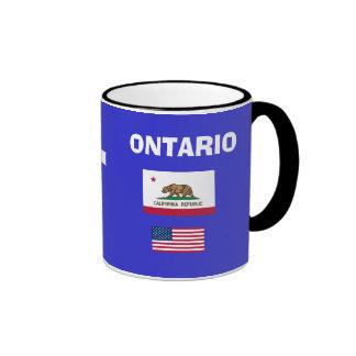 ONT Ontario Airport Code Mug
