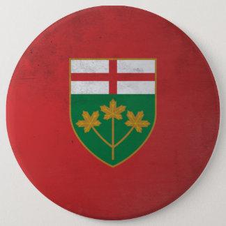 Ontario 6 Cm Round Badge