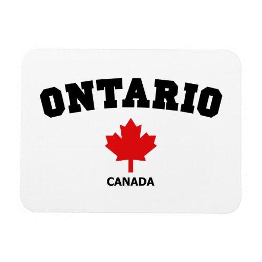 Ontario Block Rectangle Magnet