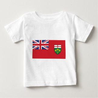 Ontario Flag Baby T-Shirt