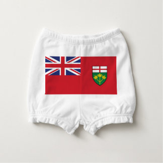 Ontario Flag Nappy Cover