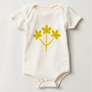 Ontario Golden Maple Leaves Baby Bodysuit